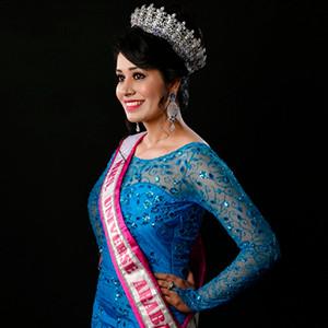 मिसेज यूनिवर्स अरब एशिया अनुपमा शर्मा ब्रांड अम्बेसडर