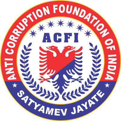 Contact Us - Anti Corruption Foundation of India   Awareness Against
